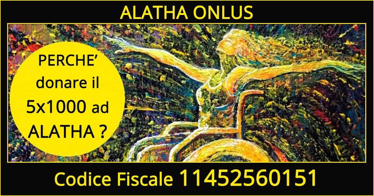 Perchè devolvere il 5×1000 ad Alatha