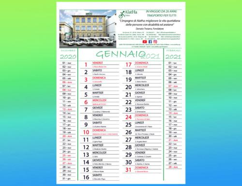 Calendario Alatha 2021